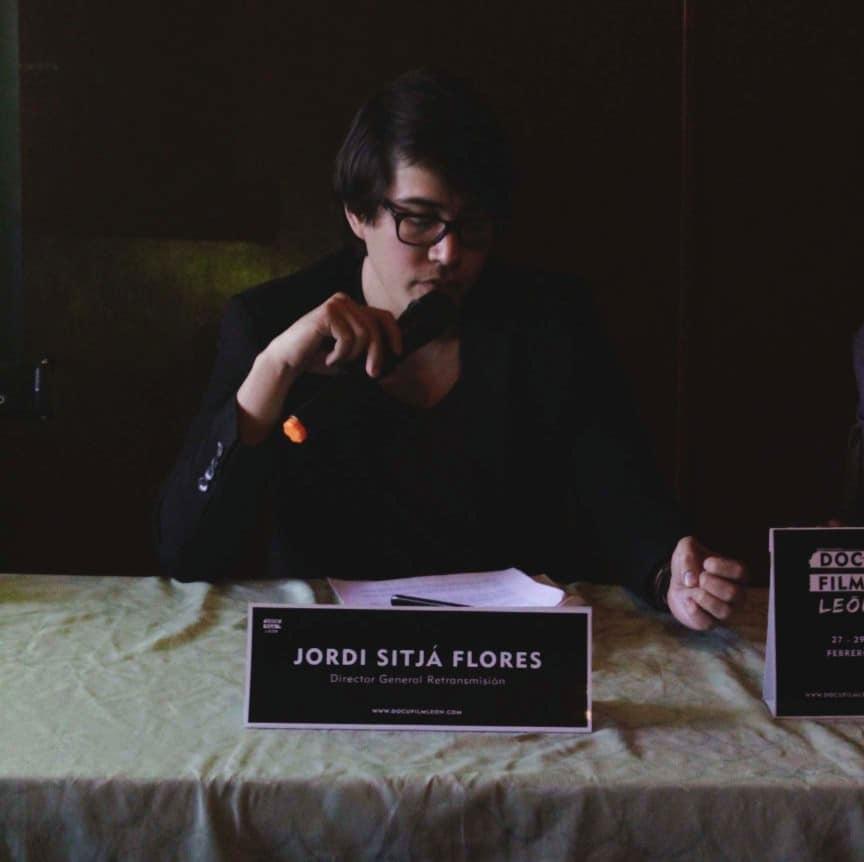 Rueda de Prensa Docu Film León Jordi Sitjá Flores Retransmisión